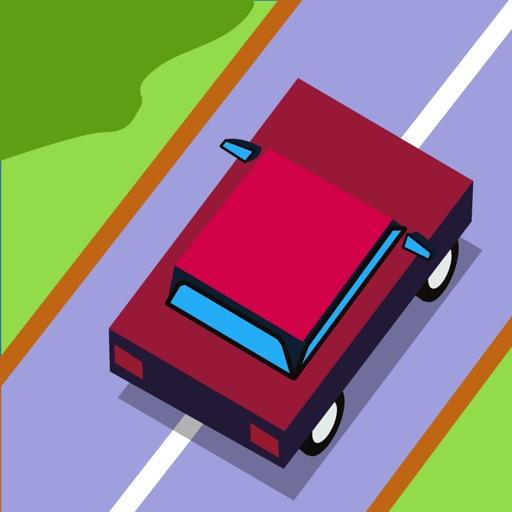 跑车轮廓矢量图