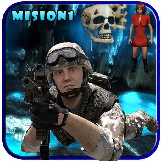 Commando Fantasy Horror Mission 1: Cave iOS App