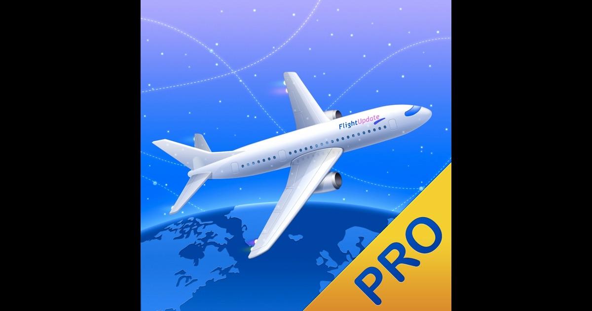 Flight Update Pro - Live Flight Status, Push Alerts + TripIt Sync on the App Store