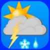 Gewitter-lokale Wetter