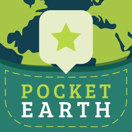 Pocket Earth Offline Maps - GPS Navigation, Topographic Contour Map, Travel Guide
