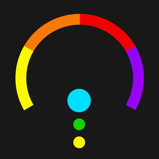 Color Switch Stack - Twisty crazy wheel & Faily tracks brakes iOS App