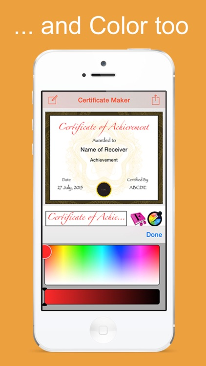 certificate maker app create and design your own certificate by