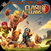 Troops and Spells Cost Calculator/Time Planner for Clash of Clans icon