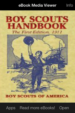 eBook: Boy Scouts Handbook screenshot 1
