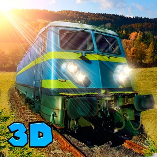 Cargo Train Driver 3D Free iOS App