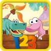 Dino Counting-Learn the Numbers