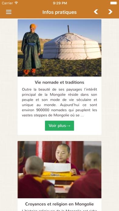 Voyage MongolieCapture d'écran de 4