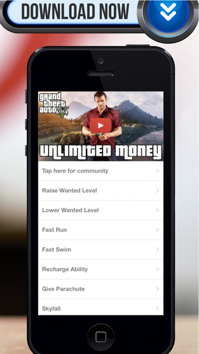 Cheat Suite Grand Theft Auto 5 Edition PRO Game Cheats, Codes and Videos for Xbox 360 and PS3Скриншоты 1