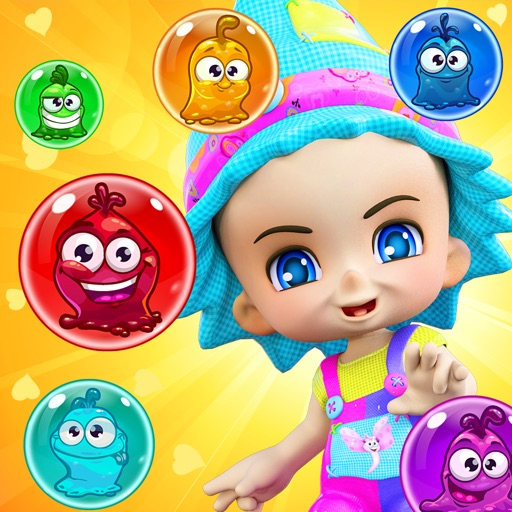 Monster Bubble: Magic Bubble Shooter - Adventure In Witch World