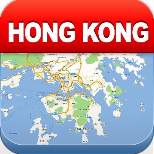 香港离线地图 – 城市 地铁 机场