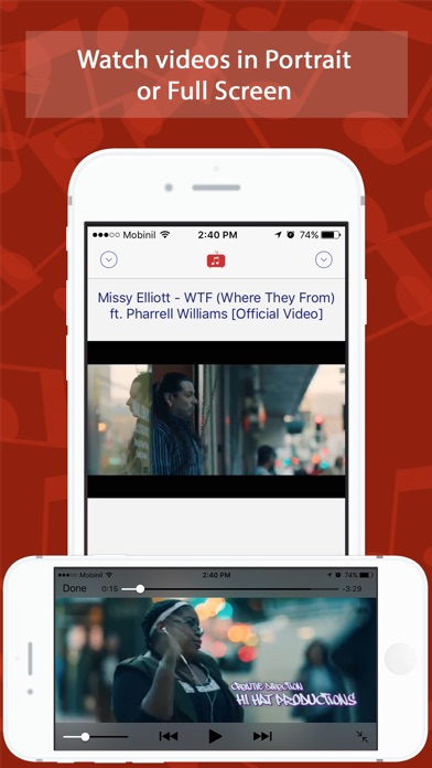 Unlimited youtube music videos on the app store iphone screenshot 3 ccuart Choice Image