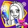 PINKFONG! The Snow Queen Coloring Book : Cinderella, Snow White, The Little Mermaid
