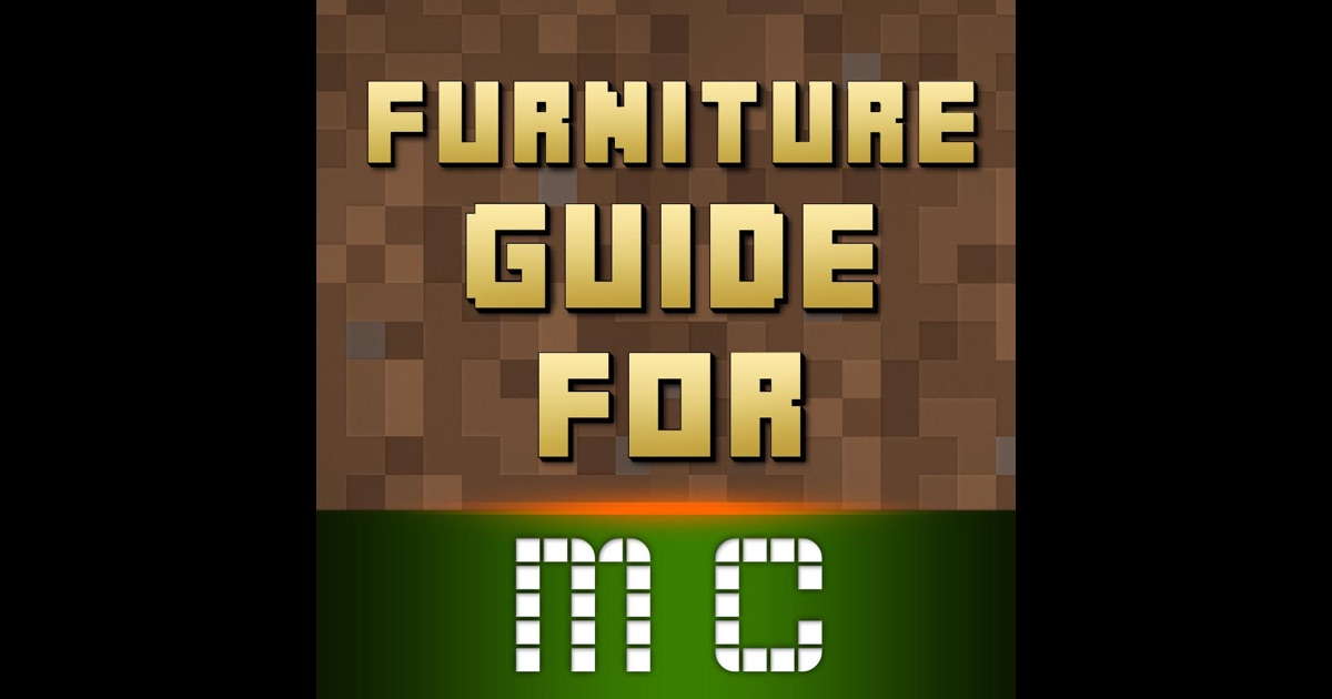 Free furniture for minecraft pe pocket edition Furniture app