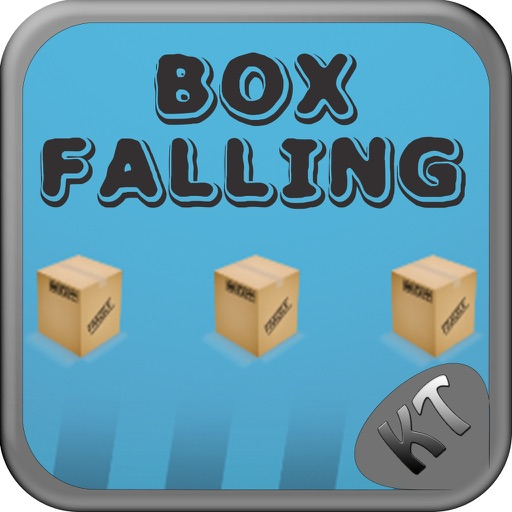 Entertaining New Box Falling iOS App