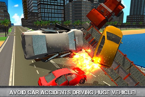 Car Transporter Driving Simulator 3D screenshot 4