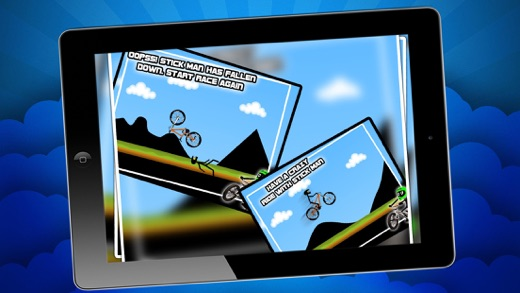 Stickman Downhill Bmx Cycle Bike Racing Game Bike Game On