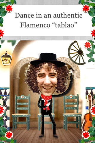 Crazy Flamenco Rumba Dance – Enjoy dancing Spanish music with this funny Face Photo Booth (perfect for guitar lovers) screenshot 2