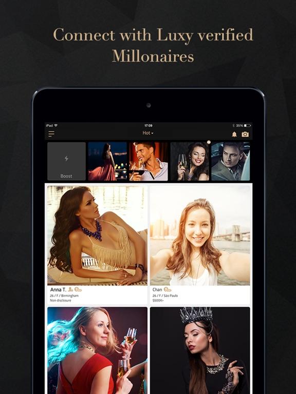 Luxy - Dating App for Elite Screenshots
