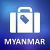 Myanmar Detailed Offline Map