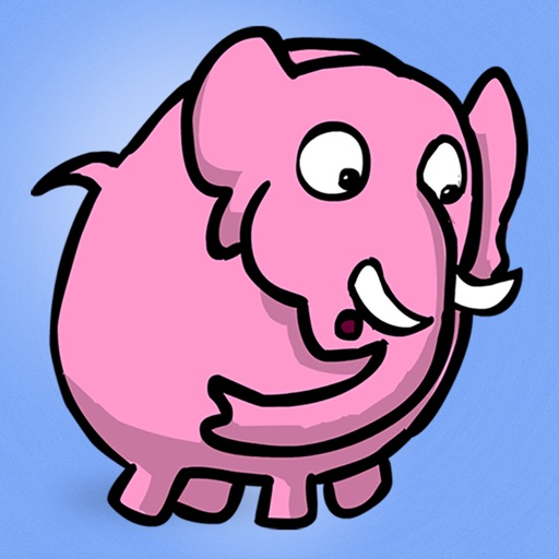 Pink Elephant Game iOS App
