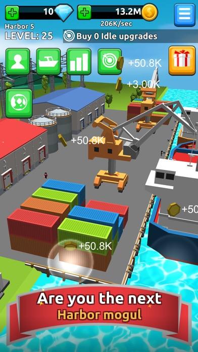 Harbor Tycoon Clicker Screenshot