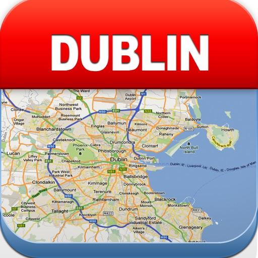 都柏林离线地图 – 城市 地铁 机场