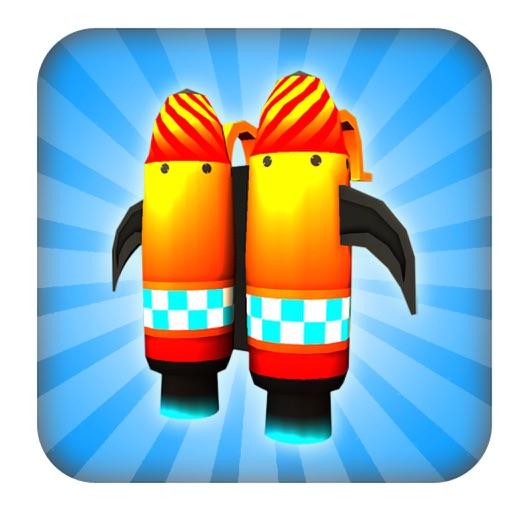 Clumsy Kid Ninja Runner : Sky Surfer Real Challenge Game iOS App