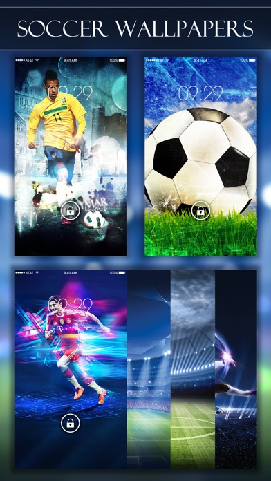Soccer Wallpapers & Backgrounds HD - Home Screen Maker with True Themes of Football App Download ...