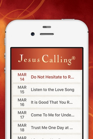 Jesus Calling Devotional screenshot 2