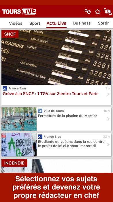 Tours LiveCapture d'écran de 2