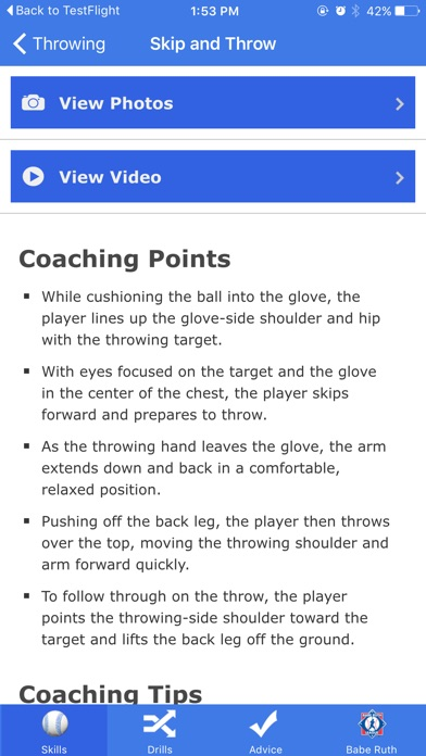 Go Coach Baseball screenshot 3