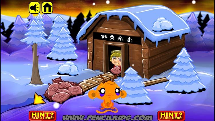 Monkey GO Happy Christmas Games screenshot-3