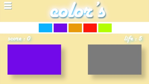 Color's (always tap the right color! ) Screenshot