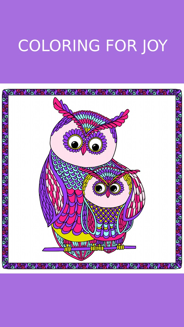 Owl Coloring Book For Adults Free Fun Adult Coloring Pages Relaxation Anxiety Stress Relief
