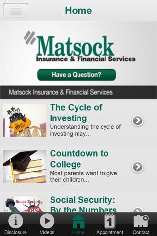Matsock Insurance & Financial screenshot 2