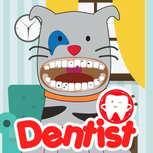 Doctor Kids Brother Caillou Dentist Game Inside Office Edition iOS App