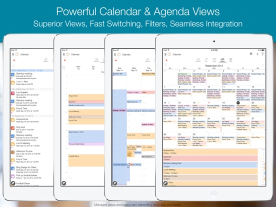 My.Agenda Calendars, Tasks Screenshot