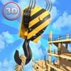 Tower Crane 3D Simulator - Start a construction, build a city!