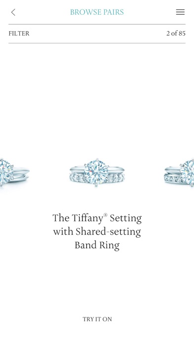 Tiffany Co Engagement Ring Finder on the App Store