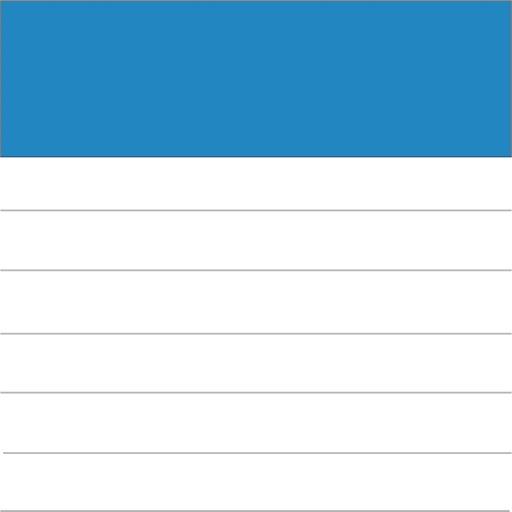 片手で使えるシンプルなメモ帳 - シンプルメモ