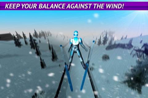 Ski Jumping Freestyle 3D Full screenshot 2
