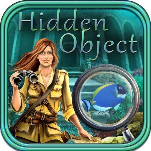 Hidden Object: Find a Diamond Eye - Atlantida Adventure Gold