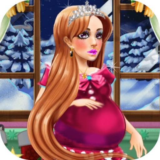 Pregnant Mommy Christmas Salon - Shining Pregnancy Princess Dress Up/Beautiful Spa iOS App