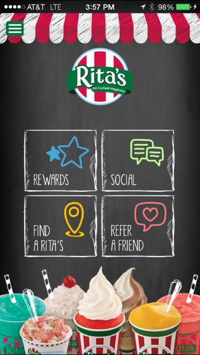 If you're a true Rita's fan, this app is for you! Find a Rita's Italian Ice location near you (enjoy Rita's wherever you go), earn FREE treats and share your Instagram worthy photos with us too!/5(K).