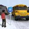 Off Road School Bus Simulator – Snow City Road Trip Driving Warrior road