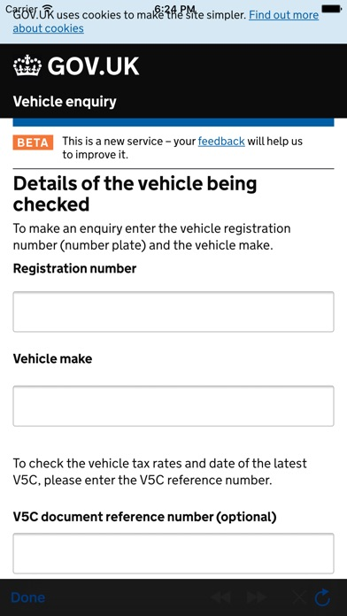 Mot and car tax checker uk app store iphone 3 negle Images