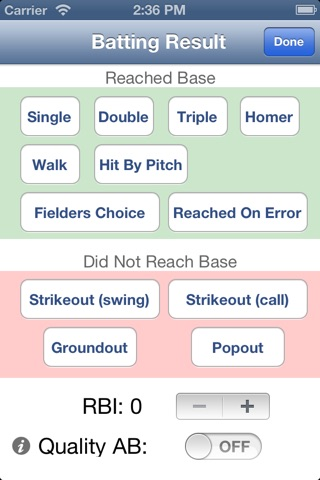 Baseball Softball Pocket Coach screenshot 3