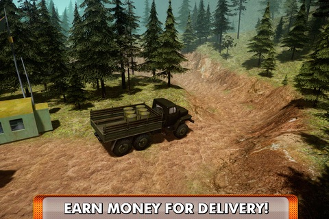 Offroad Truck Driving Simulator 3D Full screenshot 3