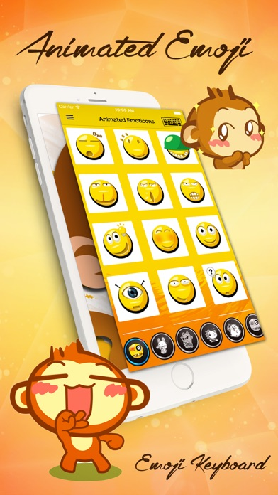 download Emoji Love PRO - Animated Funny Emoticons - Cool Characters & Emoji Keyboard Icons & Emojis Stickers for Chatting apps 4